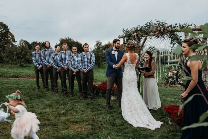 Maine Wedding Officiated by Vivianna Adams | Photo by Brittney Fairfield Photography