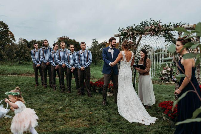 Maine Wedding Officiated by Vivianna Adams   Photo by Brittney Fairfield Photography