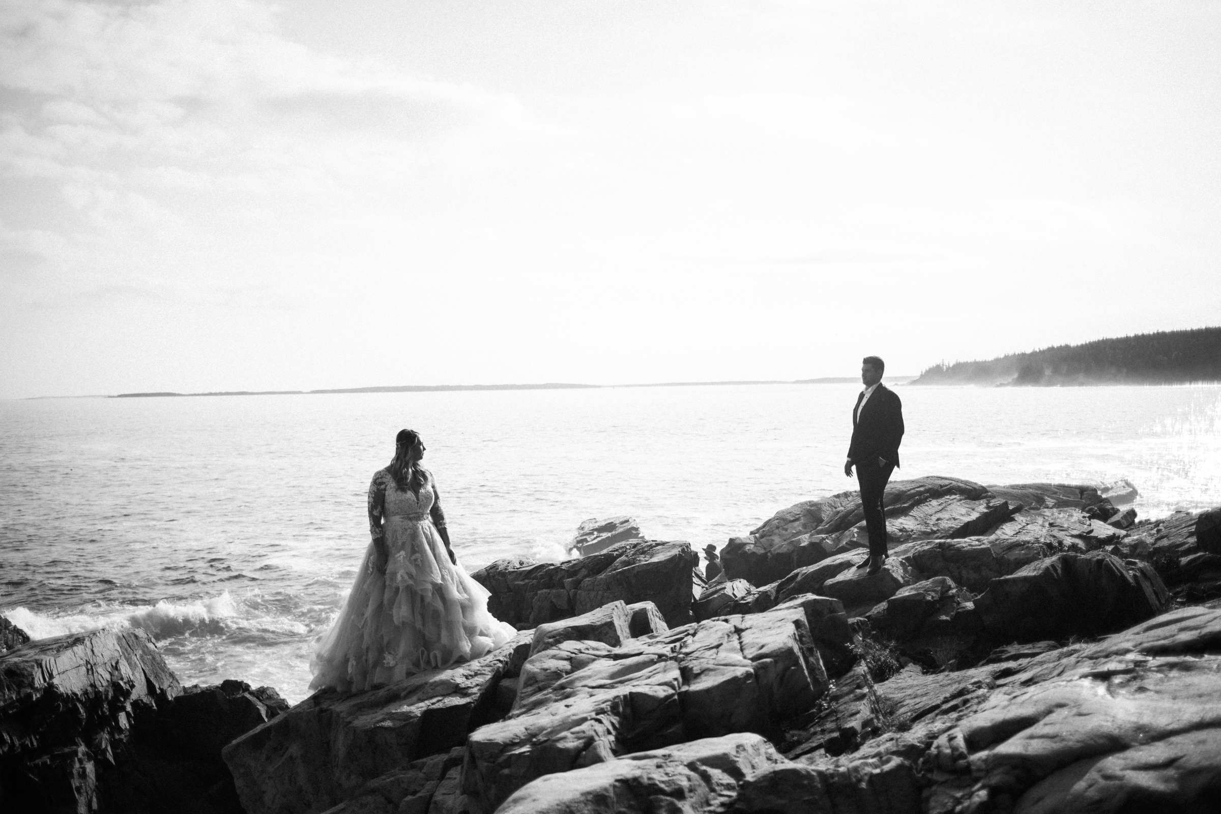 Love on the rocks in Acadia Maine